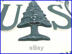 15 Rare Antique Vintage 1960s US Forest Service Wall Hanging Plaque Sign Shield
