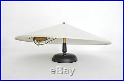 2 Lightolier Vtg Mid Century Modern Saucer Wall Sconce Light Fixture Lamp Eames