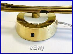 50s Vintage Wall Sconce Brass Mid Century Modern Sputnik Atomic Sconces