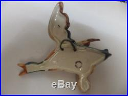A full set of 5 vintage beswick flying duck wall plaques in vgc