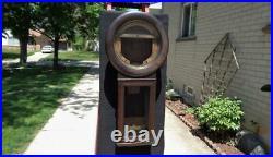 Antique Seth Thomas # 2 Regulator Weight Driven Quarter Sawn Wall Clock Restore