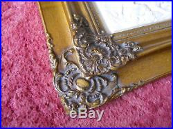 Antique Vintage French Marble Wall Plaque Goddess Diana Picture Gold Gilt Frame