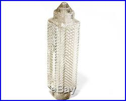 Art Deco Wall Sconce Brass Glass Skyscraper Lamp 1920s Light Old Vintage Fixture