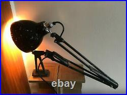 Black Vintage HERBERT TERRY'S THE ANGLEPOISE Wall Lamp