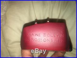 Bossons Head Wall Art Plaque Chalkware Vintage England Anne Boleyn 87 1986 Mint