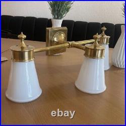 Brass Wall Light Fixture By Visual Comfort