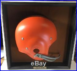 Cleveland Browns Original Vintage Helmet Display Gresh Wall Plaque FREE SHIP