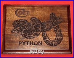 Colt Firearms Python Wall Plaque