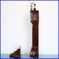 Dutch Vintage WARMINK BABY Grandfathers Clock Mantel AND Wall MOONPHASE CONSOLE
