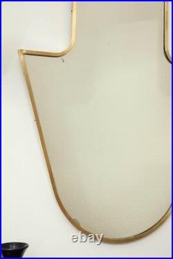 Elegant Wall Mirror Gio Ponti Style made in Italy