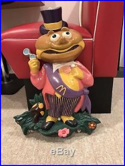 Exteremly Rare Vintage Mcdonalds Mayor Mccheese 3d Wall Sign Display Plaque