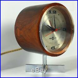George Nelson Umanoff rosewood Wall clock Howard Miller vintage modernist