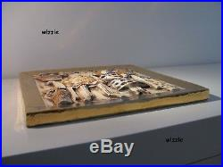 LISA LARSON Wall Tile Plaque JUBILUEM / Gustavsberg / Vintage (RARE)