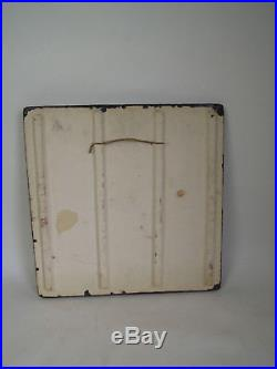 MID CENTURY ABSTRACT SCHAFFENACKER WALL PLAQUE BRUTALIST VINTAGE DESIGN 60s 70s