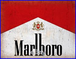 Marlboro Pub Bar Man Cave vintage style metal tin sign poster wall plaque
