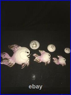 Mint Vintage Deforest Fish Wall Plaque Pocket W Bubbles For Mermaid Bath Decor