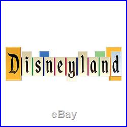 NEW Disneyland Wall Sign Plaque Vintage Park Entrance Marquee NWT NIB