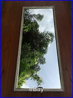 No. 2 Vintage 1950s France Paris Mid Century Modern Mategot Wall Mirror Brass Igl