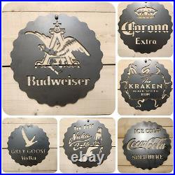 Premium Jaguar Metal Wall Sign Handmade vintage Man Cave Car Garage Vintage