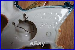 Rare Vintage Beswick X 4 Flying Mallard Duck Wall Plaques 596/0 /1 /3 /4