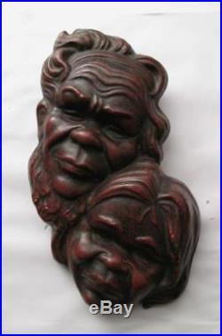 Signed Australian Pottery Aboriginal Wall Plaque Alexander Takacs Studio Vintage