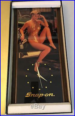 Snap On Tools Wall Clock Vintage Wall Clock Collectible Plaque Wall Clock New