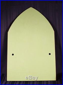 Superb Rare Vintage Deco Jade Jadite Wall Plaque Silver & Black Designs c. 1930