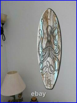 Surfboard Wall Art, Surfers gift, Tropic style, Beach Decor