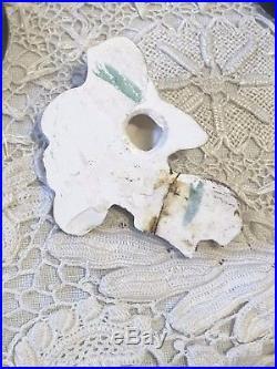 Ultra RARE! Vtg Hollywood Glam Deforest Of California Mermaid Wall Plaque 9 Pcs