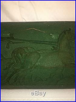 Vintage Wall Decor Repousse Solid Copper Plaque Genuine Piece Of Maslo Art