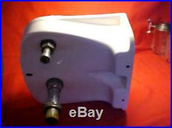 Vintage 1951 Eljer Porcelain Water Drinking Fountain Wall Mount UNIQUE