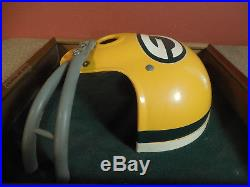 Vintage 1970's Green Bay Packers Riddell Helmet Wall Plaque by Kotler