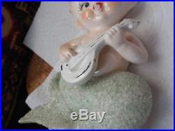 Vintage Bradley Ceramic Wall Mermaid Merboy Merchildren Plaques Singing