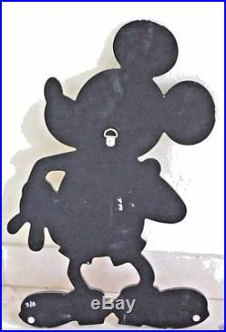 Vintage Disney 1950's Mickey Mouse Wall Plaque Decoration One Of A Kind