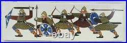 Vintage Figgjo & Flint Rolf Froyland'The Vikings' Ceramic Wall Plaque