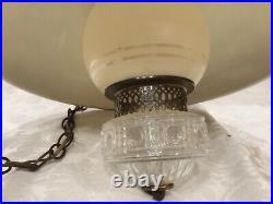 Vintage Industrial Pendant Lamp Ceiling Hanging Light Large Farm Barn Hurricane