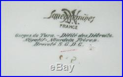 Vintage Large French Wall Plaque Gorges of Tarn Saneguemines France Photo