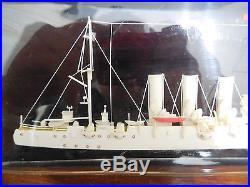 Vintage Legendary Soviet Russian Cruiser Aurora Wall Plaque Model Boat Ship USSR