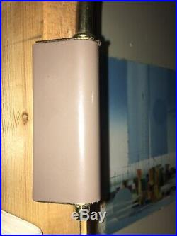 Vintage Lytespan Pull Down Wall Mount Pendant Mid Modern MCM Atomic Lightolier