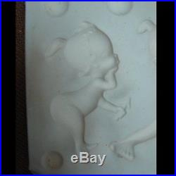 Vintage MERMAID BABY Wall Plaque MOLD for Ceramic Bisque Greenware