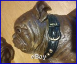 Vintage Mack Trucks Bulldogs Moulded Plastic Wall Plaques Advertising Htf