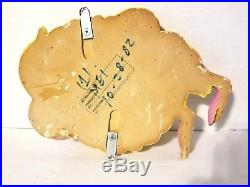 Vintage McDonalds Fry Guy 3D Wall Sign Display Plaque Playland