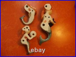Vintage Mermaid Trio Wall Plaque Lefton HAD TO RELIST WINNING BIDDER BACKED OUT