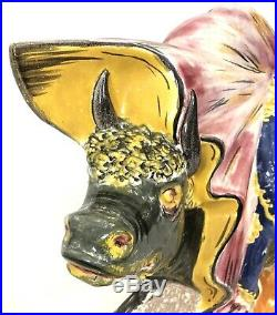 Vintage Mid Century Royal Haeger Rare Matador Bull Wall Plaque 22 816-H
