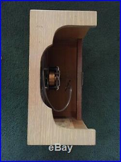 Vintage Nutone Doorbell Door Chime Wall Clock 4 Tube Mid Century Modern K46-47