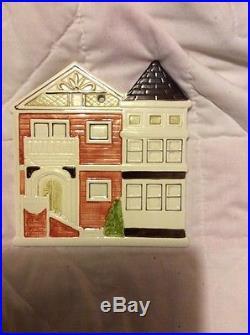 Vintage Otagiri Victorian House Wall Plaque/ Trivet