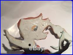 Vintage Pair Norcrest Japan Mermaid Wall Plaques