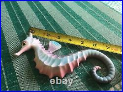 Vintage Seahorse Wall Plaque Rare