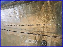 Vintage Syroco Plaque Large 1968 Italian Matador Bull MCM Wall Art 3d Toro USA