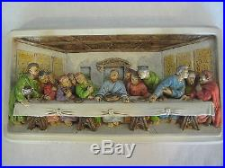 Vintage The Last Supper 3-D Wall Hanging Plaque By Victor, Creative Arts, Inc